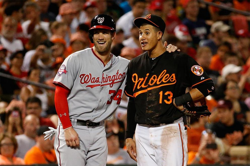 Who would you rather have: Bryce Harper or Manny Machado?