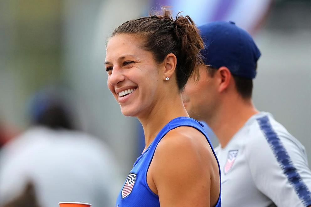 Should Carli Lloyd join the NFL?