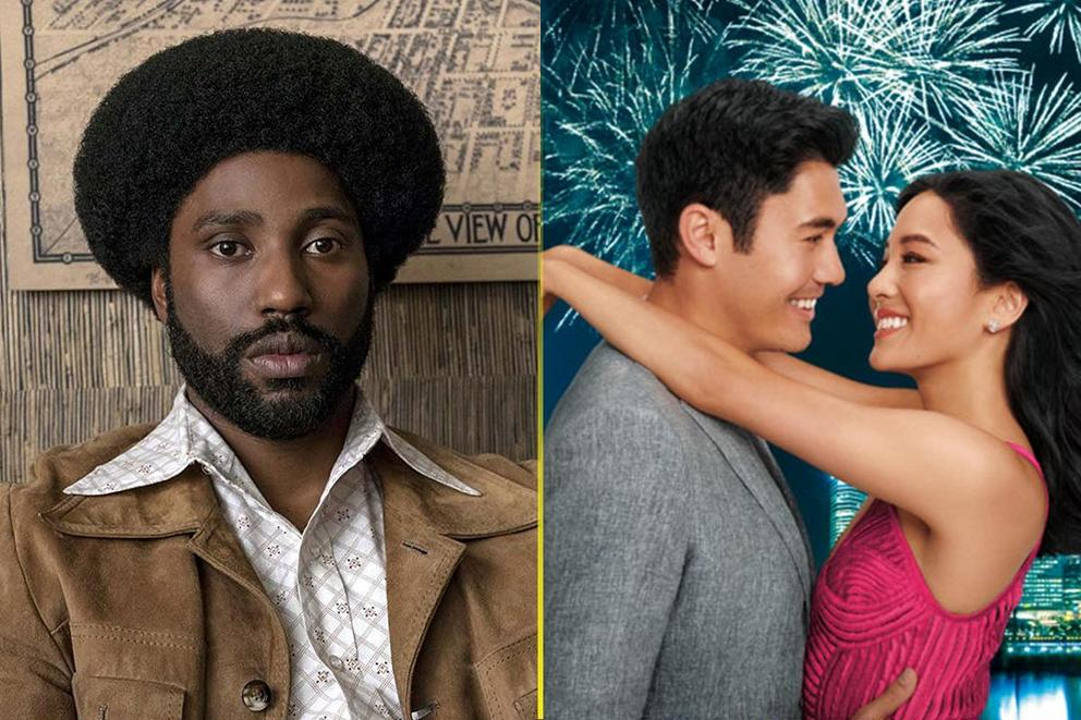 Best comedy of 2018: 'BlacKkKlansman' or 'Crazy Rich Asians'?