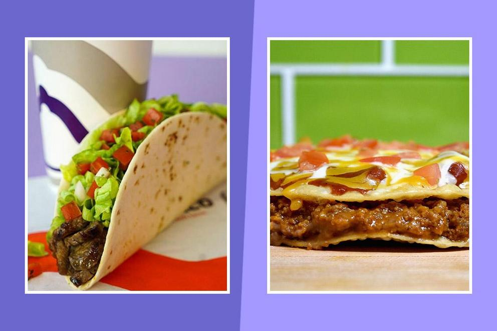 Ultimate Taco Bell Classic: the soft taco or the Mexican Pizza?