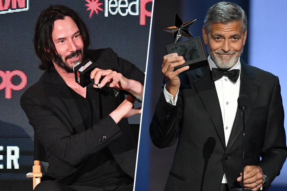 Favorite action star: Keanu Reeves or George Clooney?