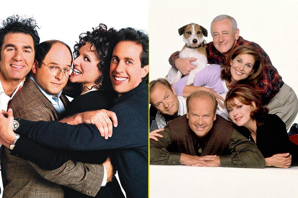 Best sitcom only '90s kids would remember: 'Seinfeld' or 'Frasier'?