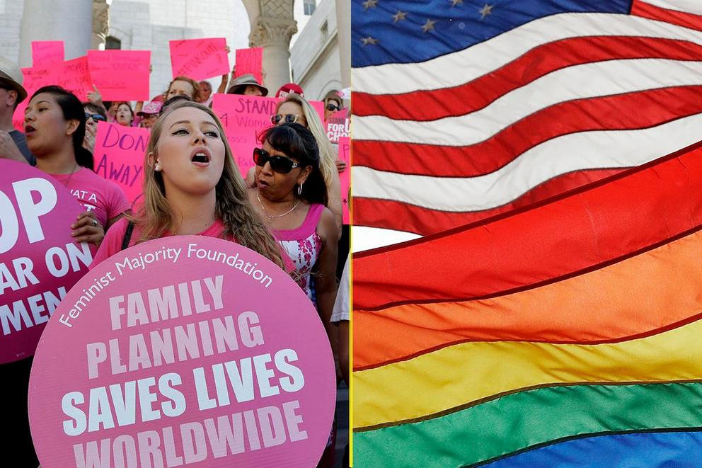 Most important issue of 2018: Reproductive rights or LGBT rights?