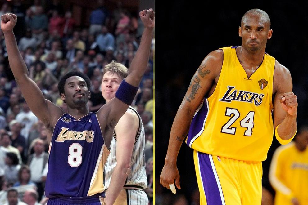 8 or 24: Who was the better Kobe Bryant?