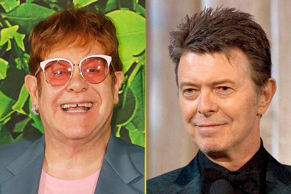 Music's greatest gay icon: Elton John or David Bowie?