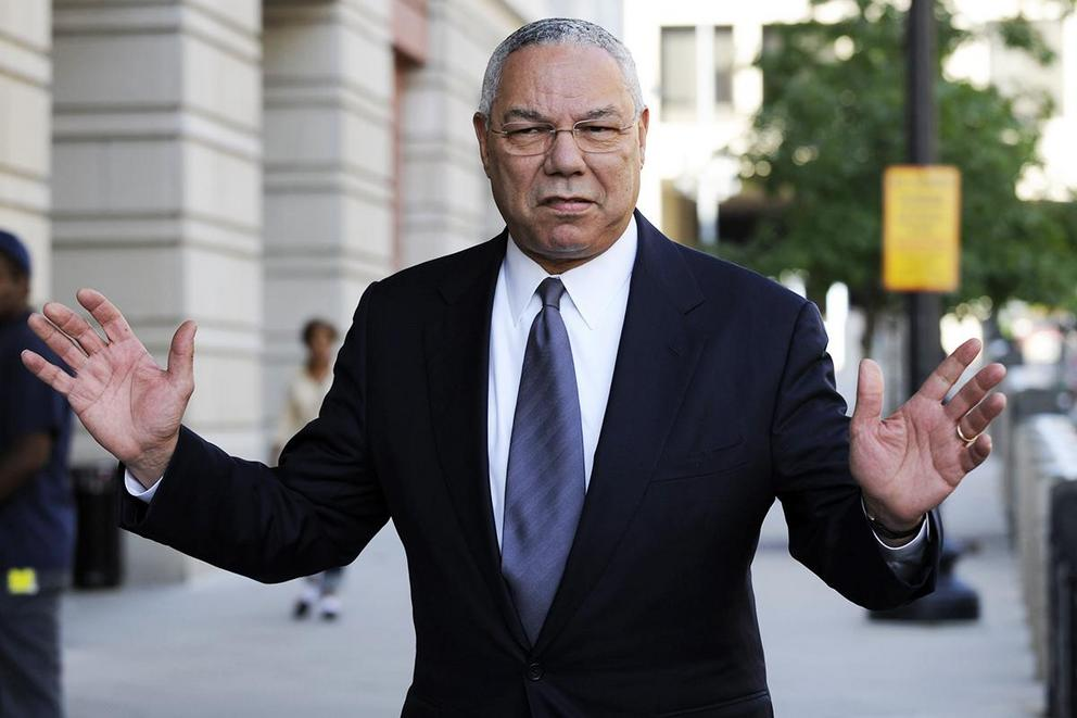 Who are Colin Powell's leaked emails worse for, Trump or Clinton?