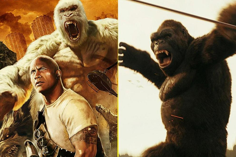 Will 'Rampage' topple 'King Kong' for best monster movie?