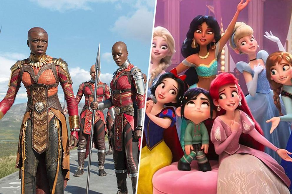 Disney spinoff you want the most: Women of 'Black Panther' or Disney Princesses as Avengers?