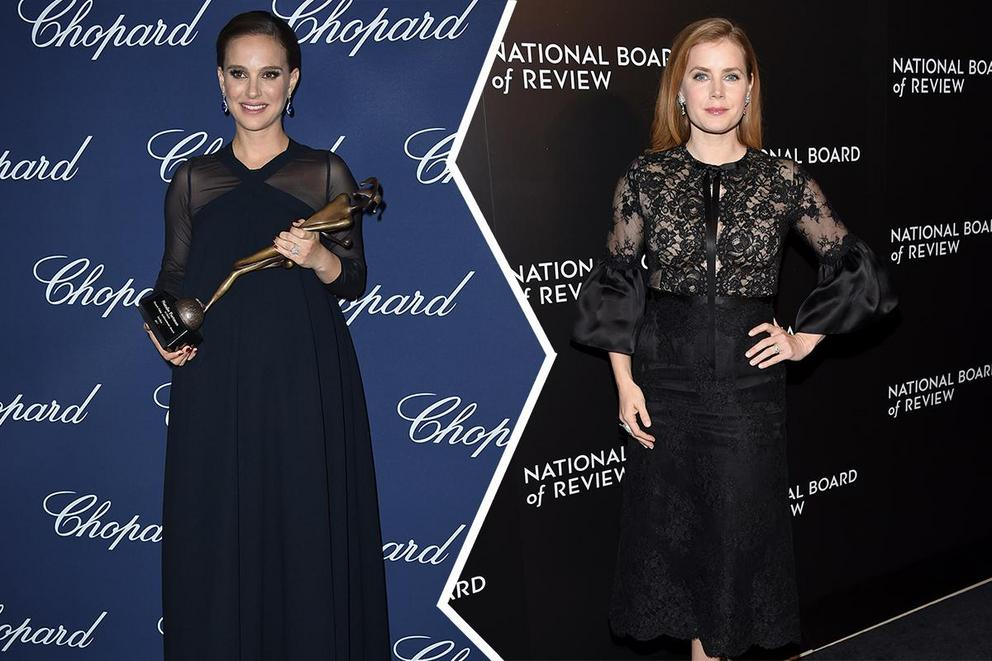 Who will win Best Actress, Drama: Natalie Portman or Amy Adams?