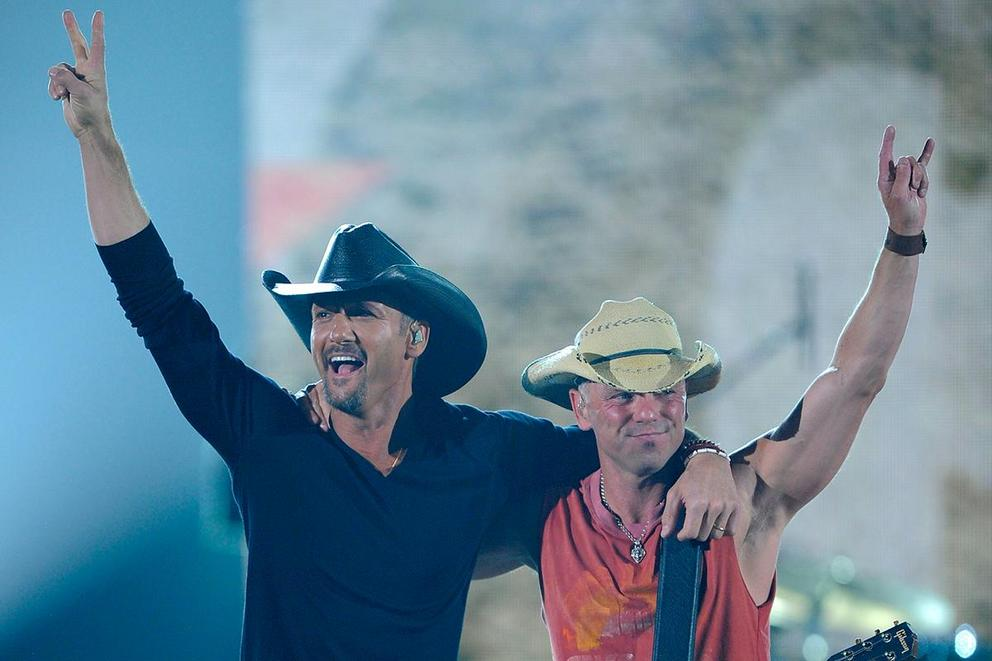 More iconic country artist: Tim McGraw or Kenny Chesney?