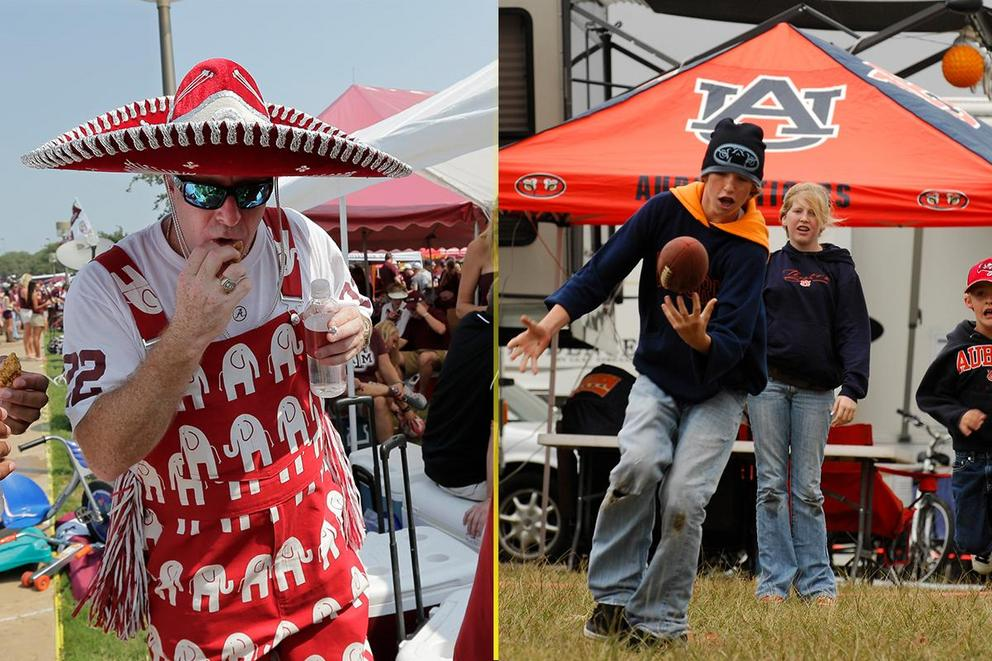 Who has the best tailgate: Alabama or Auburn?
