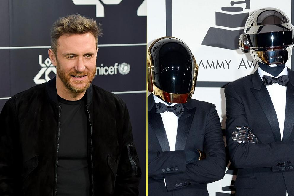 Which dance-electronic act is more iconic: David Guetta or Daft Punk?