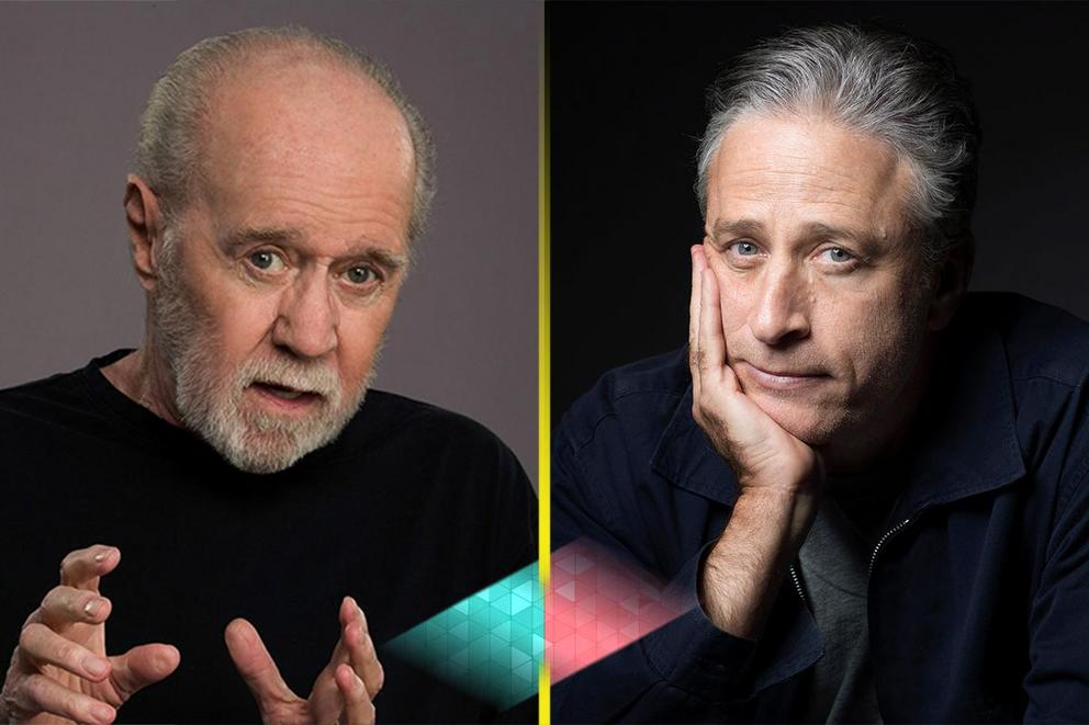 Best political commentary: George Carlin or Jon Stewart?