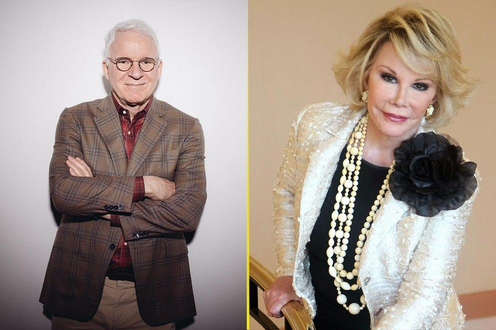 Who's the better comedian: Steve Martin or Joan Rivers?