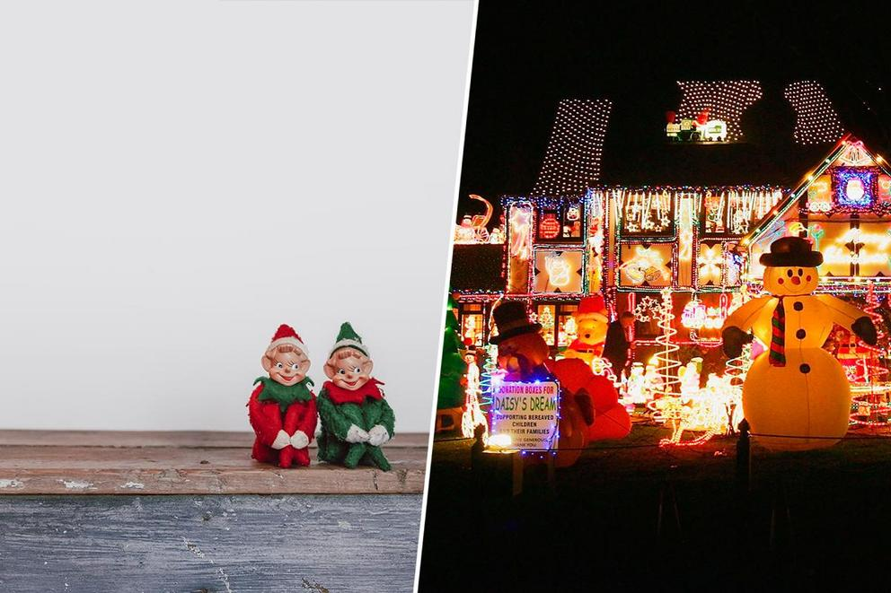 Which Christmas tradition is worse: Elf on the Shelf or yard inflatables?