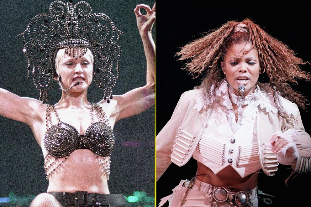Greatest sex-themed album from a pop queen: 'Erotica' or 'Janet'?