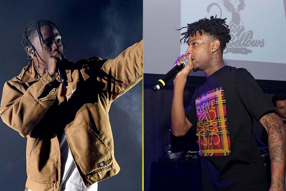 Favorite popular trap rapper: Travis Scott or 21 Savage?