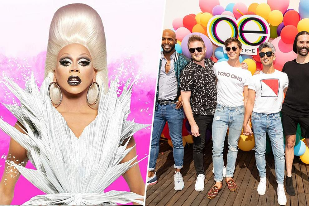 Most stylish reality show: 'RuPaul's Drag Race' or 'Queer Eye'?