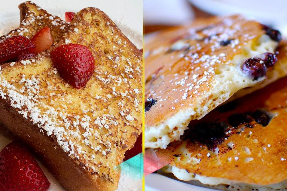 Best brunch dish: French toast or pancakes?
