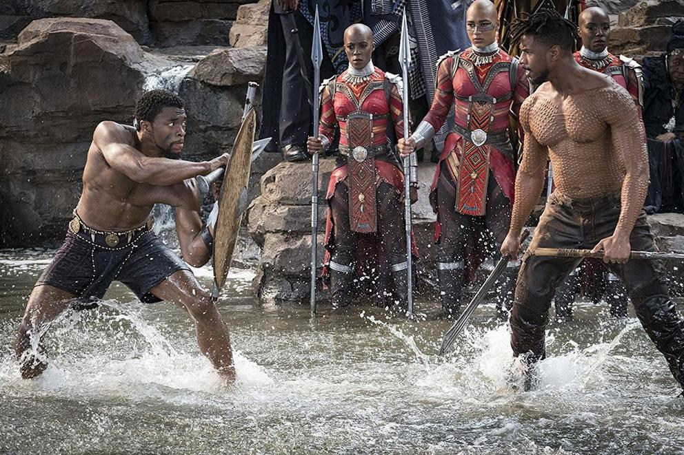 Which MCU character is hotter: Black Panther or Killmonger?