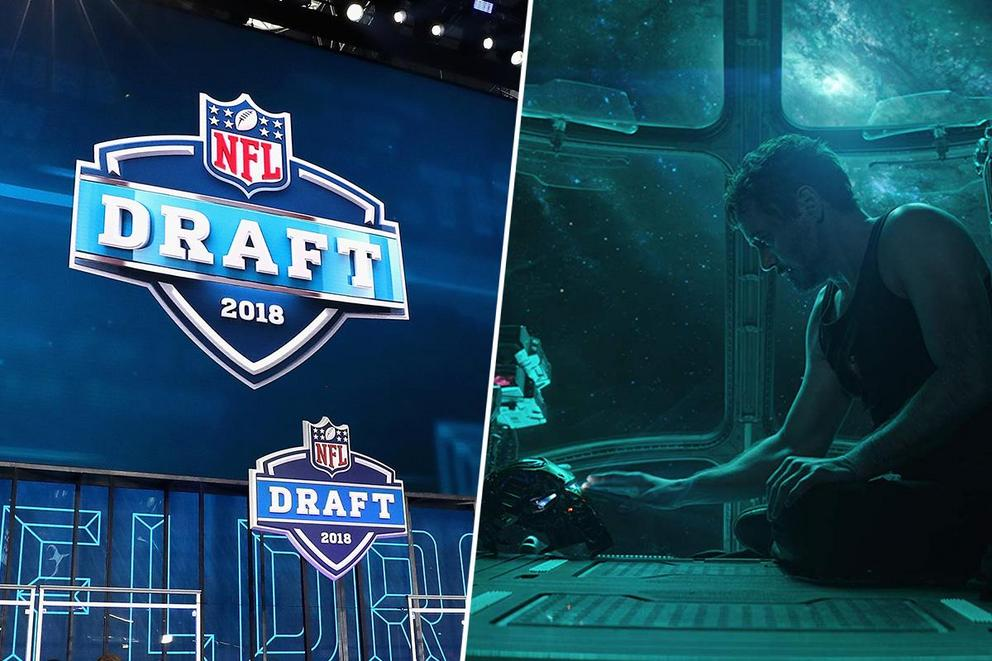 What are you more excited for: NFL Draft or 'Avengers: Endgame'?