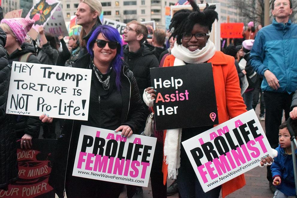 Can feminists be pro-life?