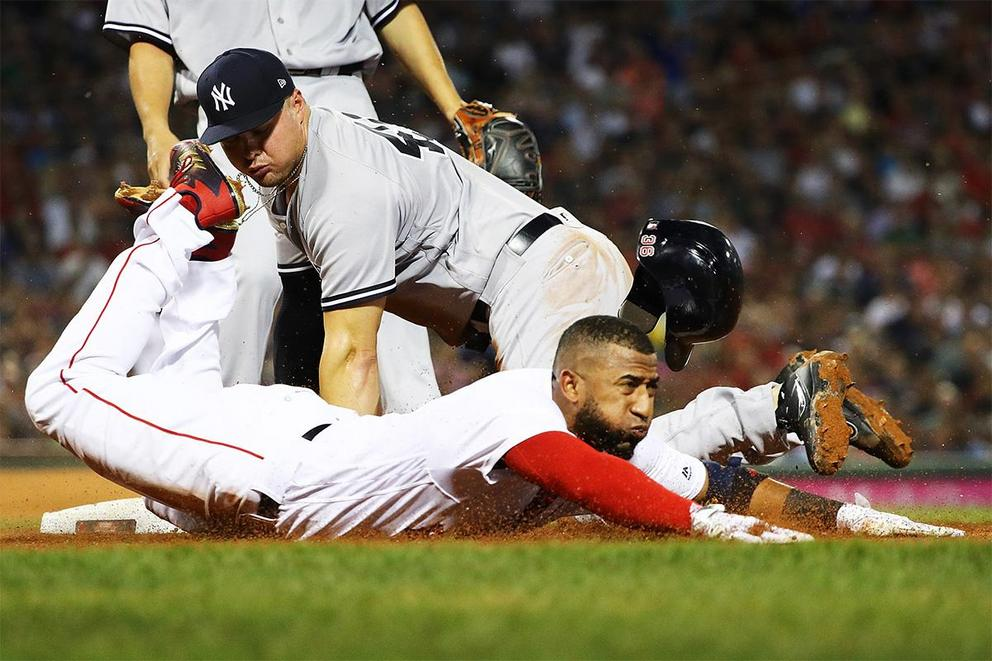Who will win the AL Divisional Series: Yankees or Red Sox?