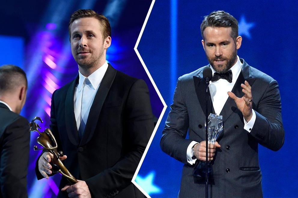 Who will win Best Actor, Musical or Comedy: Ryan Gosling or Ryan Reynolds?
