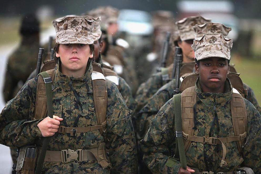 "Marines remove the word ""man"" from 19 job titles: too PC? Or time for a change?"