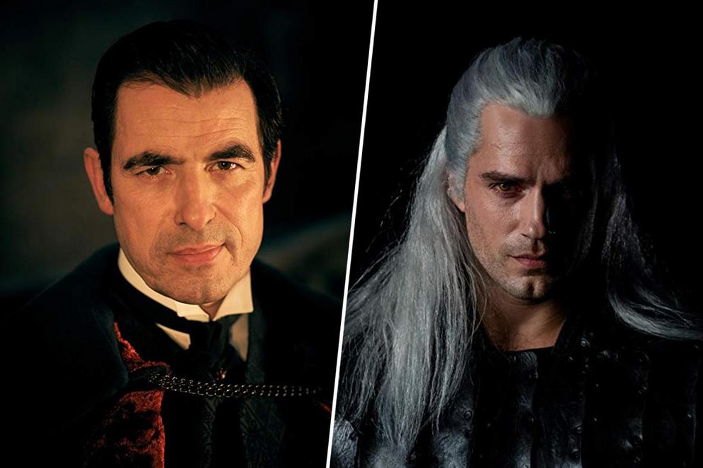 Favorite new Netflix fantasy-horror show: 'Dracula' or 'The Witcher'?
