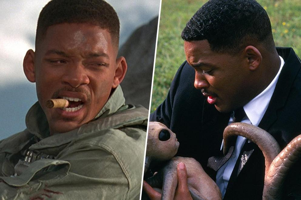 Will Smith's best '90s sci-fi movie: 'Independence Day' or 'Men in Black'?
