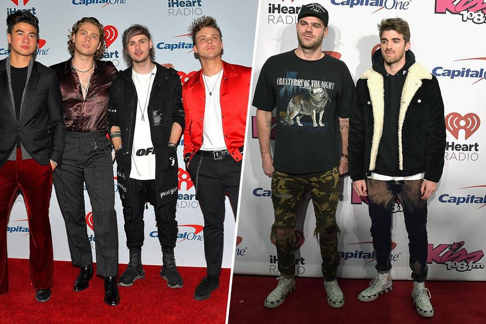 Who are you most excited to see on tour: 5 Seconds of Summer or The Chainsmokers?