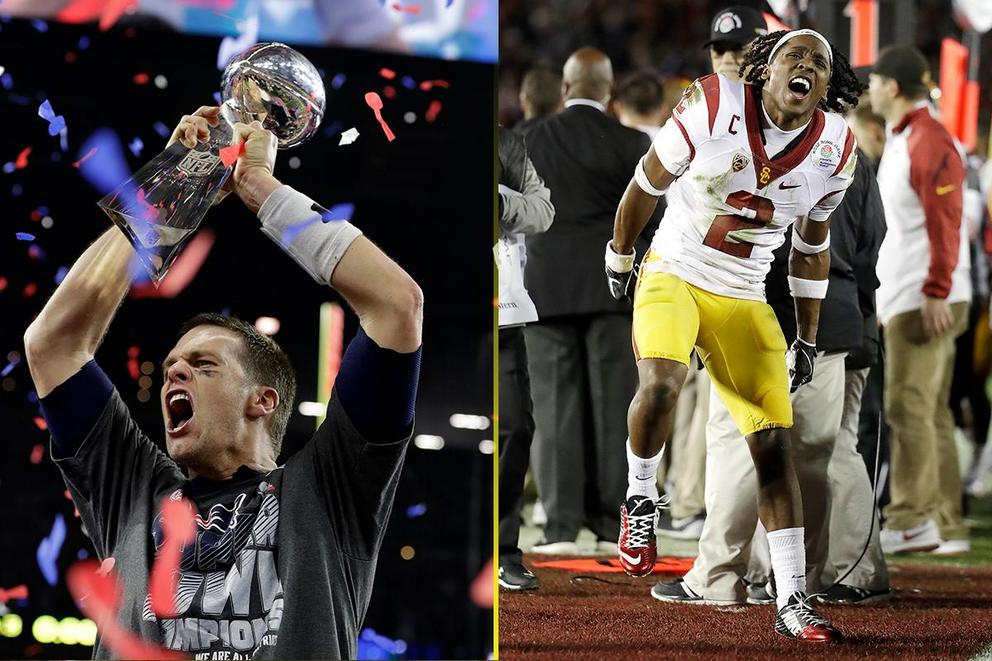 Best comeback of the year: New England Patriots or USC Trojans?