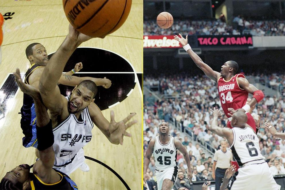 Is Hakeem Olajuwon 20 times better than Tim Duncan?