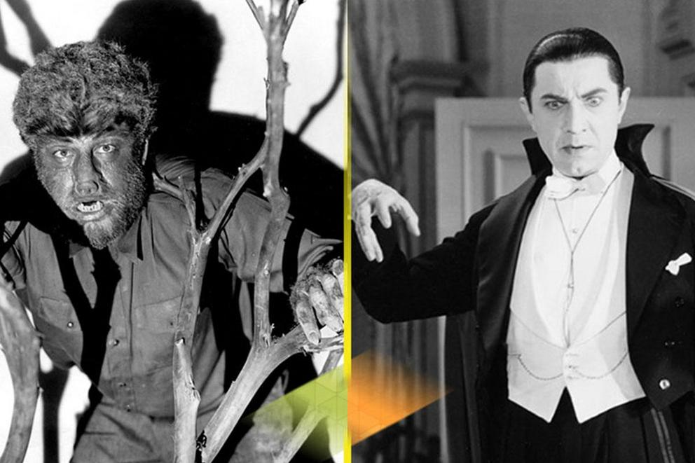 Scariest Universal movie monster: Wolf Man or Dracula?