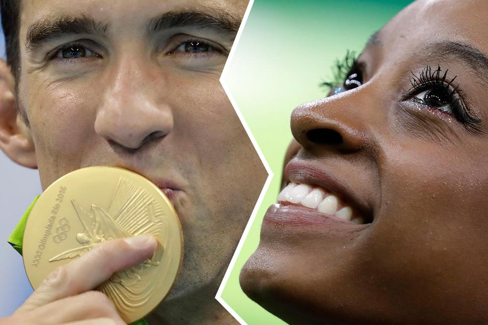 Which US Olympian will come home with more glory?