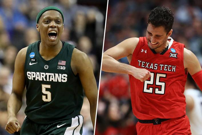 Which team will survive the Final Four: Michigan State or Texas Tech?