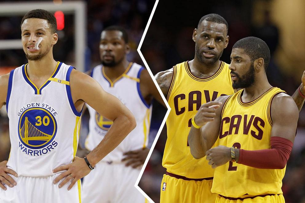 NBA team of the year: Golden State Warriors or Cleveland Cavaliers?