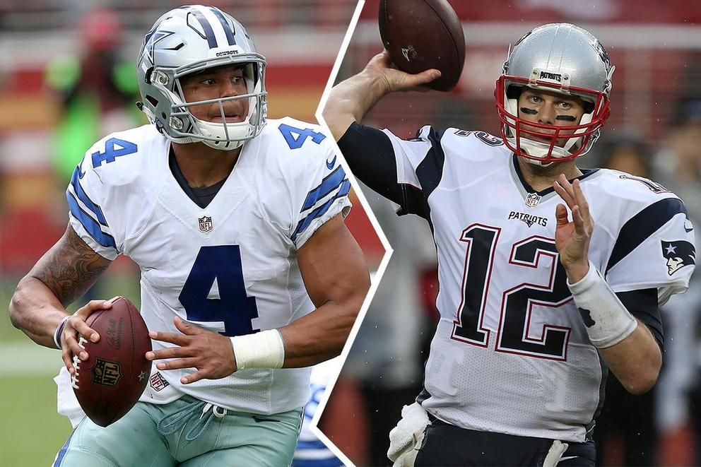 NFL team of the year: Dallas Cowboys or New England Patriots?