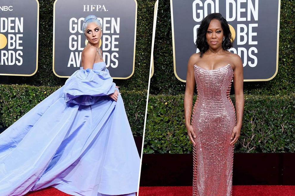 Best-dressed woman at the 2019 Golden Globes: Lady Gaga or Regina King?