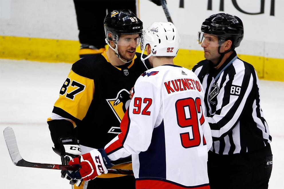 Who survives the second round of the NHL playoffs: Capitals or Penguins?