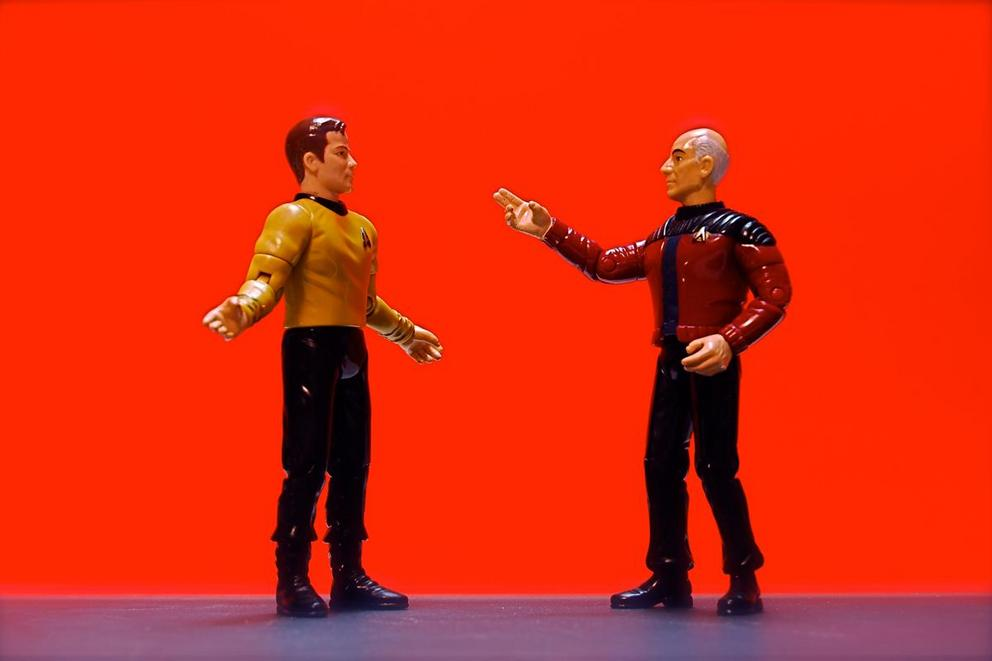 Who is the best Star Trek captain: Picard or Kirk?