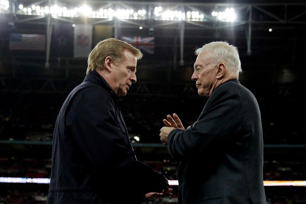 Is Dallas Cowboys owner Jerry Jones a hero?
