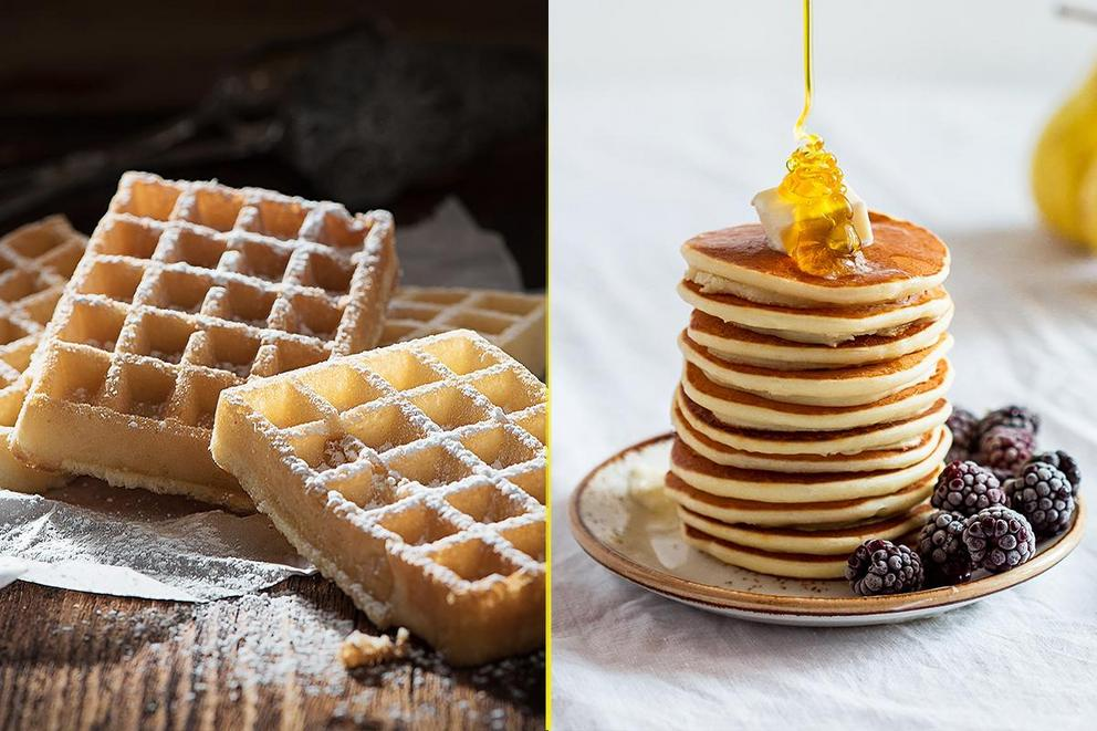 Best breakfast food: Waffles or pancakes?