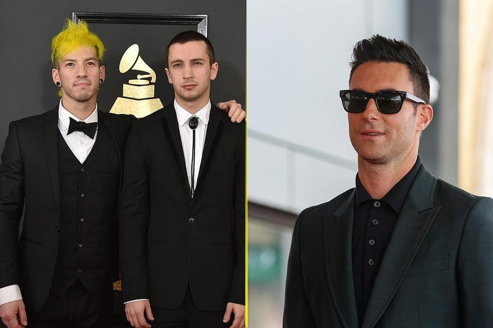Choice Music Group: Twenty One Pilots or Maroon 5?