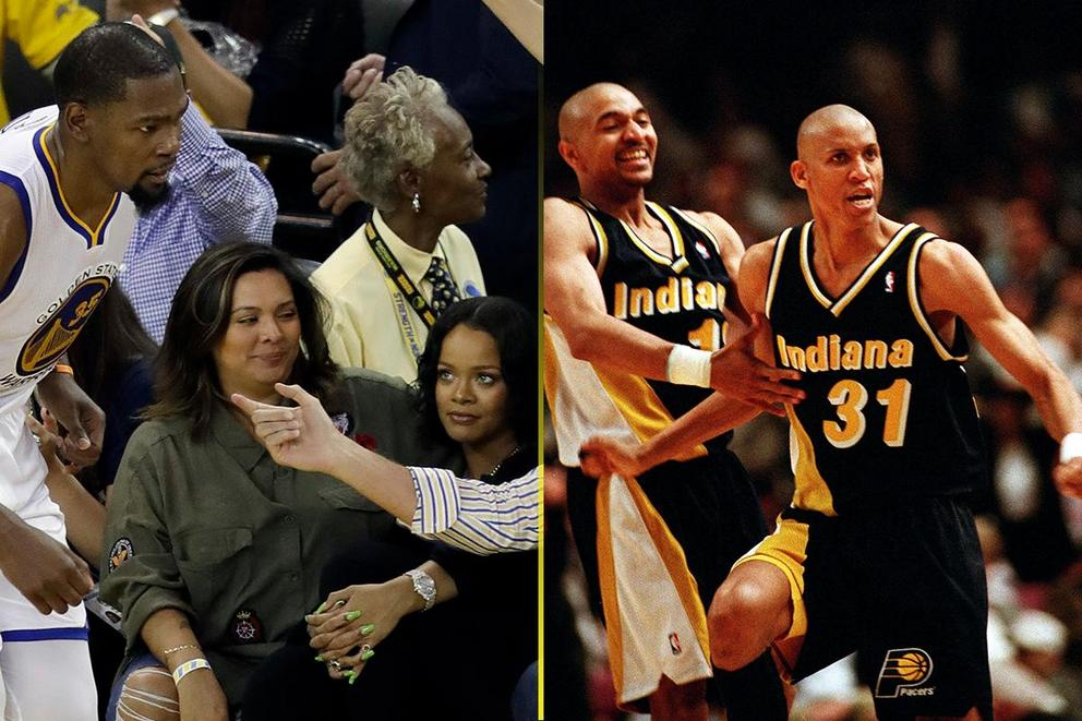 Most entertaining celebrity-NBA beef: Rihanna-Kevin Durant or Reggie Miller-Spike Lee?