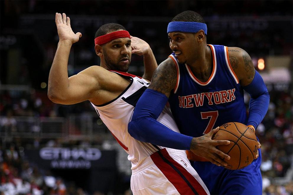 Who would you rather have: Carmelo Anthony or Jared Dudley?