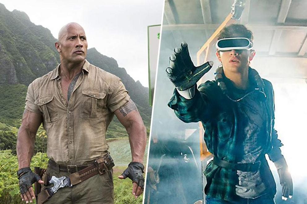 Favorite '10s gaming movie: 'Jumanji: Welcome to the Jungle' or 'Ready Player One'?