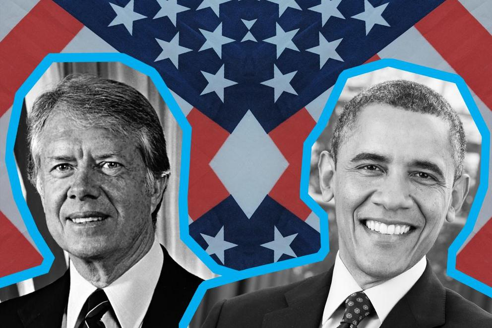 Most influential president: Jimmy Carter or Barack Obama?