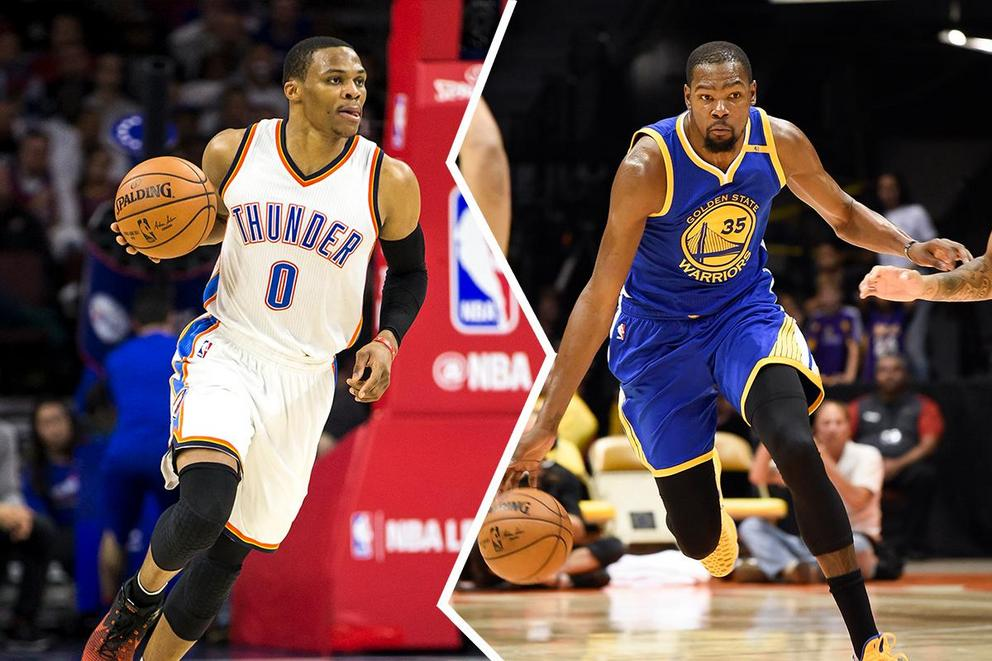 Who should we root for this NBA season: Kevin Durant or Russell Westbrook?